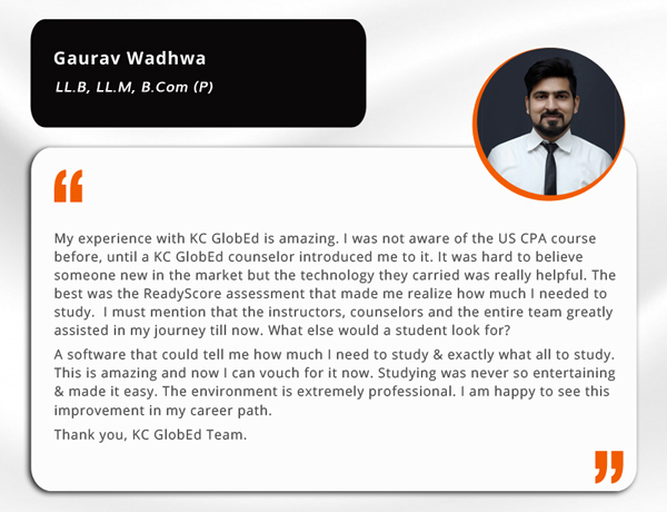 job opportunities for a CPA in India